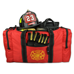 Lightning X Value Firefighter Turnout Gear Bag w/ Maltese Cross Embroidery