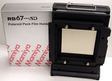 Mamiya RB PRO SD POLAROID FILM HOLDER / FILM BACK HP701