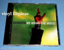 PHILIPPINES:SCOOTER - We Bring The Noise CD,RARE,VHTF,TECHNO