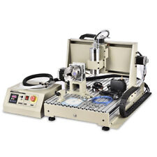 USB CNC 4 Axis 6040 Router Engraver Machine Engraving Cutting Milling 1500W VFD