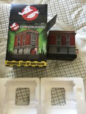 Ghostbusters FIREHOUSE, Terror Dog,Slimer & Stay Puft Lighted Statues Lot Of 4
