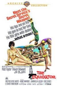 The Liquidator. Warner Archive Collection DVD