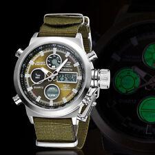 OHSEN Luxury Brand Men Fashion Sport Watch LCD Digital Army Military Wristwatch
