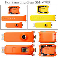 Silicone Cinturino Braccialetto Watch Strap+ Back Cover per Samsung Gear SM-V700