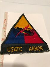 "USATC ARMOR SCHOOL 1940 ""Forge The Thunderbolt""  FT. Benning GA USA Stock #545"