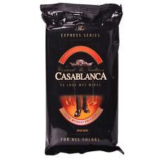 CASABLANCA 15pcs Shoe Wet Wipes Leather care product Shine without polish EUmade