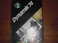 Prospekt Sales Brochure Puch Maxi 2K Maxi S X 30 Moped Mokick Mofa  автомобиль
