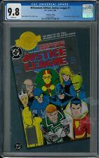 MILLENNIUM EDITION: JUSTICE LEAGUE #1 CGC 9.8 (7/00) DC Comics Chromium