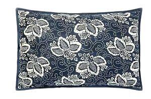 Ralph Lauren Bedding DURANT KIRA Standard PILLOW SHAM (1) Blue $130 Floral NWT