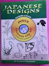 Dover Electronic Clip Art: Japanese Designs by Dover Publications Inc. Staff...