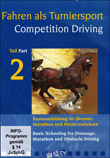 Competition Driving 2: Dressage DVD  with Frank Lutz  NEW!