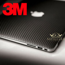 SopiGuard 3M 1080 Carbon Fiber Skin Top Bottom Apple Macbook Pro 13 Non Retina