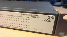 3Com 2928-SFP Plus Switch (3CRBSG2893) 24-Port Gigabit Switch with Brackets