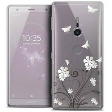 """Coque Crystal Gel Pour Sony Xperia XZ2 (5.7"""") Souple Summer Papillons"""