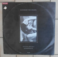 "GEORGE MICHAEL DISCO 12"" MAXI SINGOLO CARELESS WHISPER EXTENDED MIX - UK"