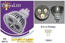 3W Ultra Bright High Power LED MR16 Spotlight 6400K Cool White