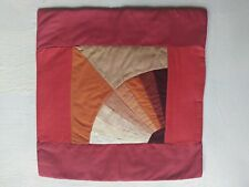 Homemade Patched Work  4 Cushion Covers 100% Cotton Attractive And Beautiful