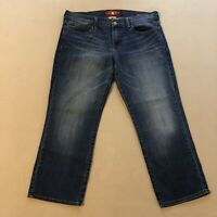 LUCKY Brand Womens Sweet N Crop Blue Denim Jeans Size 8/29 Cotton Spandex