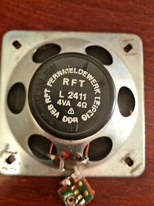 Lautsprecher RFT L2411 4VA/4 OHM  DDR funktionstüchtig Vintage Stern´