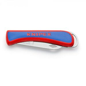 Knipex Elektriker-Klappmesser Kabelmesser Abmantelungswerkzeug 162050 SB