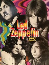 "Led Zeppelin Calendars 1986, 1988, 1997 Lot of 3 Original 11 x 16"" Pre-Owned"