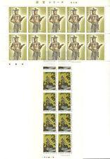 Japan MNH Lot of 2 Sheets Mint 100 Yean Nippon Face 2000 Yen