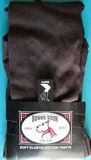 LEGGING MI-LONG FILLE 140-146cm coton marron foncé Chou Chou BONNIE DOON NEUF