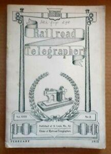 The Radio Telegrapher Vintage/Antique Magazine:  Feb 1915