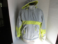 OLD NAVY SKI SNOWBOARD WINTER JACKET WOMEN'S Sz. X-Small Yellow Gray Hooded
