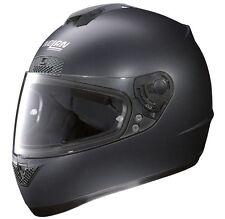 NOLAN N63 Casco Negro Mate facial completa Génesis-Tamaño Grande-ahorrar £ 30-sólo £ 89