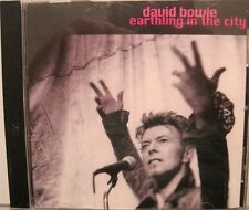 DAVID BOWIE - Earthling in the City - CD - USA - CQ MAGAZINE - PROMO  RARE  L@@K