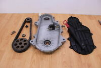 2005 POLARIS RMK 900 RMK900 Chain Case With Cover & Sprockets