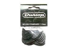 12 Dunlop Nylon Picks 1,00 MM Guitar Pick Hang Bag