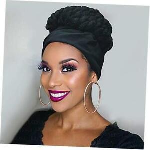 Braids Wig with Headband Wig,Cornrow Braided Wigs for Black Women Box A-1B#