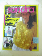 Sandra 7/89, Strickheft