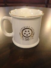 AMERICAN AIRLINES ADMIRALS CLUB COFFEE MUG CELEBRATING 50TH ANNIVERSARY1939-1989