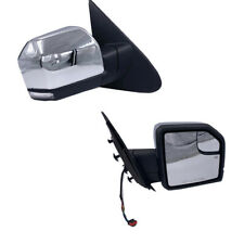 For 03-06 Ford Expedition Chrome Power+Heated+LED Turn Signal Side Mirrors Pair