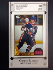 WAYNE GRETZKY 1987 TOPPS #53 GRADED GEM MINT 10!