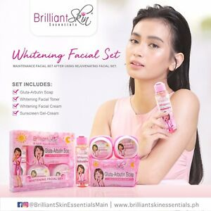 Brilliant  Skin Essentials Whitening Facial Set (Maintenance)🇵🇭🇬🇧