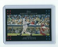 2007 Topps Derek Jeter No Mickey Mantle & George Bush #40 MINT Yankees Rare!!!