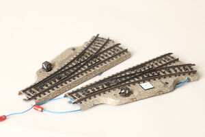 Märklin H0 Metal Track M Electric Pair of Switches 5202 (189811)
