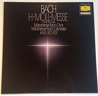 Bach H-Moll Messe Chöre und Arien Karl Richter DGG Stereo 2535 313