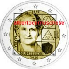 2 euro 2020 ITALIA 150 Maria MONTESSORI italie italy italien Италия Włochy