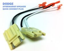 DODGE SPEAKER WIRE HARNESS Connection PLUG 1994-2002