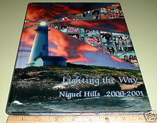 2000 2001 Niguel Hills Middle School Laguna Niguel CA Calif California Yearbook