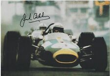 Formula One Champ 3 Times  Sir Jack Brabham SIGNED POSTCARD