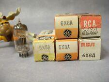 6X8A Vacuum Tubes General Electric / RCA  Lot of 5