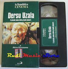 film VHS DERSU UZALA Akira Kurosawa  CARTONATA LA REPUBLBICA 1975 (F9 * ) no dvd
