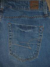 AMERICAN EAGLE True Boot Stretch Denim Jeans Womens Size 0 Short x 28.5