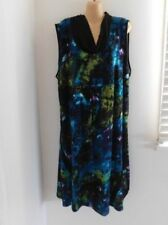 Geometric Viscose Dresses Tunic/Smock Dress